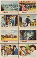 """Movie Posters:Western, The Alamo (United Artists, 1960). Lobby Card Set of 8 (11"""" X14"""").... (Total: 8 Items)"""