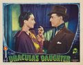 "Movie Posters:Horror, Dracula's Daughter (Universal, 1936). Lobby Card (11"" X 14"")...."