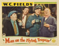 """Movie Posters:Comedy, Man on the Flying Trapeze (Paramount, 1935). Lobby Card (11"""" X14"""")...."""