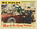 "Movie Posters:Comedy, Man on the Flying Trapeze (Paramount, 1935). Lobby Card (11"" X14"")...."