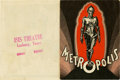 "Movie Posters:Science Fiction, Metropolis (Paramount, 1927). Herald (6"" X 9"")...."