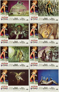 "Movie Posters:Science Fiction, Barbarella (Paramount, 1968). Lobby Card Set of 8 (11"" X 14"")....(Total: 8 Items)"