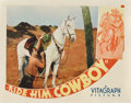 "Movie Posters:Western, Ride Him, Cowboy (Warner Brothers, 1932). Lobby Card (11"" X 14"")...."