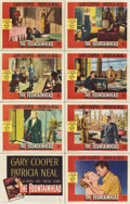 "Movie Posters:Drama, The Fountainhead (Warner Brothers, 1949). Lobby Card Set of 8 (11""X 14"").... (Total: 8 Item)"