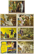 "Movie Posters:Fantasy, Stairway to Heaven (Universal International, 1946). Title LobbyCard & Scene Cards (6) (11"" X 14"").... (Total: 7 Items)"
