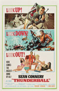 "Movie Posters:James Bond, Thunderball (United Artists, 1965). One Sheet (27"" X 41"")...."