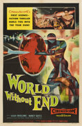 "Movie Posters:Science Fiction, World Without End (Allied Artists, 1956). One Sheet (27"" X 41"")...."