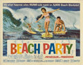 "Movie Posters:Comedy, Beach Party (American International, 1963). Half Sheet (22"" X 28"")...."