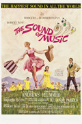 "Movie Posters:Academy Award Winner, The Sound of Music (20th Century Fox, 1965). One Sheet (27"" X 41"")Todd-AO Roadshow Style...."