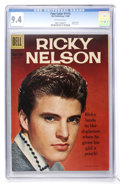Silver Age (1956-1969):Miscellaneous, Four Color #1115 Ricky Nelson (Dell, 1960) CGC NM 9.4 Off-whitepages....