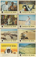 "Movie Posters:Academy Award Winner, Lawrence of Arabia (Columbia, 1962). Lobby Card Set of 8 (11"" X14"").... (Total: 8 Items)"