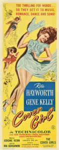 """Movie Posters:Comedy, Cover Girl (Columbia, 1944). Insert (14"""" X 36"""")...."""