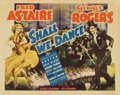 "Movie Posters:Musical, Shall We Dance (RKO, 1937). Title Lobby Card and Lobby Card (11"" X14"").... (Total: 2 Items)"