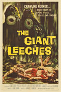 """Movie Posters:Horror, The Giant Leeches (American International, 1959). One Sheet (27"""" X 41"""")...."""