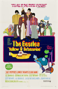 "Yellow Submarine (United Artists, 1968). One Sheet (27"" X 41"")"
