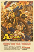 "Movie Posters:Western, The Alamo (United Artists, 1960). One Sheet (27"" X 41"")Roadshow...."