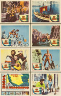 """Movie Posters:Fantasy, Jason and the Argonauts (Columbia, 1963). Lobby Card Set of 8 (11"""" X 14"""").... (Total: 8 Items)"""