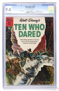 Silver Age (1956-1969):Adventure, Four Color #1178 Walt Disney's Ten Who Dared (Dell, 1960) CGC NM 9.4 Cream to off-white pages....