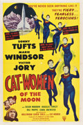 "Movie Posters:Science Fiction, Cat-Women of the Moon (Astor Pictures, 1954). One Sheet (27"" X41"")...."