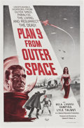 "Movie Posters:Science Fiction, Plan 9 from Outer Space (DCA, 1956). One Sheet (27"" X 41"")...."
