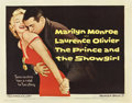 "Movie Posters:Romance, The Prince and the Showgirl (Warner Brothers, 1957). Half Sheet(22"" X 28"")...."