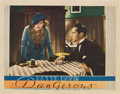"Movie Posters:Drama, Dangerous (Warner Brothers, 1935). Lobby Card (11"" X 14"")...."