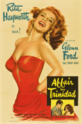 "Movie Posters:Film Noir, Affair in Trinidad (Columbia, 1952). One Sheet (27"" X 41"")...."