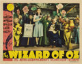 "Movie Posters:Fantasy, The Wizard of Oz (MGM, 1939). Lobby Card (11"" X 14"")...."