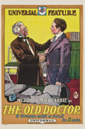 "Movie Posters:Drama, The Old Doctor (Universal, 1915). One Sheet (27.25"" X 41.5"")...."
