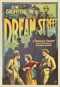 "Dream Street (United Artists, 1921). One Sheet (28"" X 41"")"