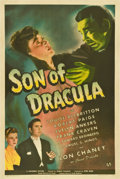 "Movie Posters:Horror, Son of Dracula (Universal, 1943). One Sheet (27"" X 41"")...."