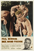"Movie Posters:Drama, Cool Hand Luke (Warner Brothers, 1967). Italian Poster (18"" X26.75"")...."