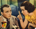 "Movie Posters:Comedy, She Loves Me Not (Paramount, 1934). Jumbo Lobby Cards (4) (14"" X17"").... (Total: 4 Items)"