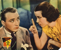 "She Loves Me Not (Paramount, 1934). Jumbo Lobby Cards (4) (14"" X 17"").... (Total: 4 Items)"