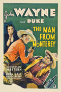 "Movie Posters:Western, The Man from Monterey (Warner Brothers - First National, 1933). OneSheet (27"" X 41"")...."