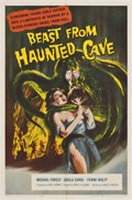 "Movie Posters:Science Fiction, Beast from Haunted Cave (Film Group, 1959). One Sheet (27"" X41"")...."