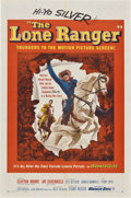 "Movie Posters:Western, The Lone Ranger (Warner Brothers, 1956). One Sheet (27"" X 41"")...."