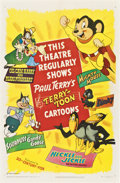 "Movie Posters:Animated, Terry-Toons Cartoon Stock (20th Century Fox, 1950). One Sheet (27"" X 41"")...."
