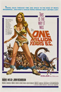 "Movie Posters:Adventure, One Million Years B.C. (20th Century Fox, 1966). One Sheet (27"" X41"")...."