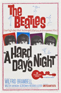 "Movie Posters:Rock and Roll, A Hard Day's Night (United Artists, 1964). One Sheet (27"" X41"")...."