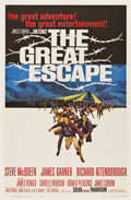 "Movie Posters:War, The Great Escape (United Artists, 1963). One Sheet (27"" X 41"")...."
