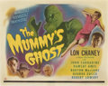"""Movie Posters:Horror, The Mummy's Ghost (Universal, 1944). Half Sheet (22"""" X 28"""")...."""