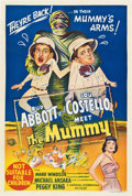 "Movie Posters:Comedy, Abbott and Costello Meet the Mummy (Universal International, 1955).Australian One Sheet (27"" X 40"")...."
