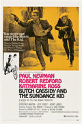 "Movie Posters:Western, Butch Cassidy and the Sundance Kid (20th Century Fox, 1969). OneSheet (27"" X 41"") Style B...."