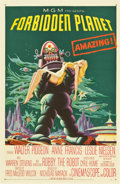 "Movie Posters:Science Fiction, Forbidden Planet (MGM, 1956). One Sheet (27"" X 41"")...."