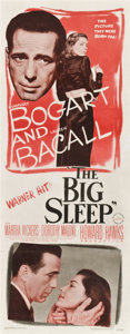 "Movie Posters:Film Noir, The Big Sleep (Warner Brothers, 1946). Insert (14"" X 36"")...."