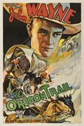 "Movie Posters:Western, The Oregon Trail (Republic, 1936). One Sheet (27"" X 41"")...."