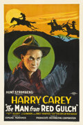 """Movie Posters:Western, The Man from Red Gulch (Producers Distributing Corp., 1925). One Sheet (27"""" X 41"""") Style B...."""