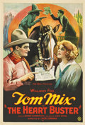 "Movie Posters:Western, The Heart Buster (Fox, 1924). One Sheet (27"" X 41"")...."