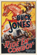 "Movie Posters:Western, Ride 'Em Cowboy (Universal, 1936). One Sheet (27"" X 41"")...."